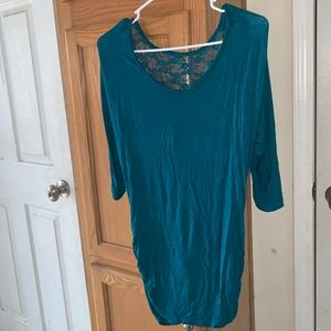 Rue 21 Jade 3/4 top